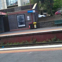 Photo taken at Prahran Station by Abby Y. on 9/30/2011