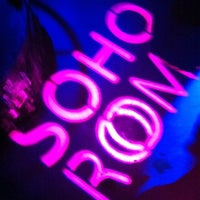 Photo taken at Soho Rooms by Anna P. on 5/13/2011