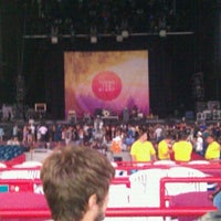 Photo taken at Virginia Beach Amphitheater by Regan M. on 9/13/2011