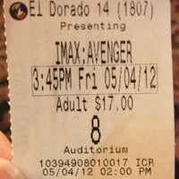 Photo taken at Regal Cinemas El Dorado Hills 14 & IMAX by Paul R. on 5/4/2012