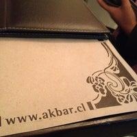 Photo taken at Akbar by Ciel F. on 9/8/2012