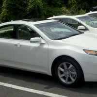 Photo taken at Frankel Acura by Mike G. on 6/4/2011