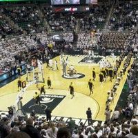 Photo taken at Breslin Center by Jeff T. on 1/11/2012