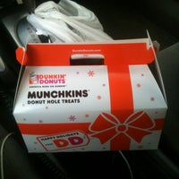 Photo taken at Dunkin' Donuts by Danielle D. on 7/10/2012