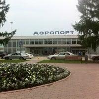 Photo taken at Bolshoye Savino International Airport (PEE) by Андрей А. on 7/3/2012
