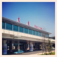 Photo taken at Dalian Zhoushuizi International Airport (DLC) by Shin M. on 5/17/2012