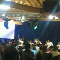 Photo taken at New Beginnings Church of Chicago by MAN FROM U. on 3/8/2012