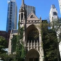 Photo taken at Fourth Presbyterian Church by Pang S. on 10/4/2011