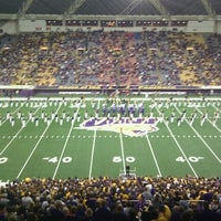 Photo taken at UNI-Dome by Nathan N. on 9/24/2011