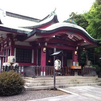 Photo taken at 市谷亀岡八幡宮 by Syu-kaidou on 5/16/2011
