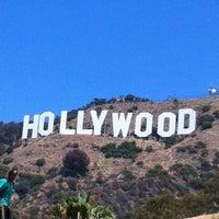 Photo taken at Hollywood Sign by Rodrigo J. on 7/14/2012