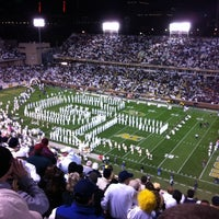 Photo taken at Bobby Dodd Stadium by Paul V. on 11/11/2011