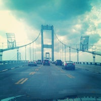 Photo taken at Chesapeake Bay Bridge by Michael R. on 7/15/2012