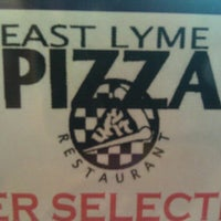 Photo taken at East Lyme Pizza by Mike on 5/18/2011