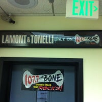 Photo taken at 107.7 The Bone by Baby H. on 7/9/2012