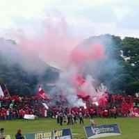 Photo taken at Stadion Bhumi Phala Temanggung by M Novaldy K. on 4/28/2012