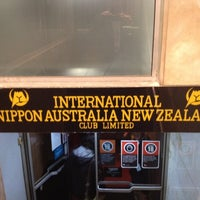Photo taken at International Nippon Australia New Zealand Club by Michael G. on 7/30/2012