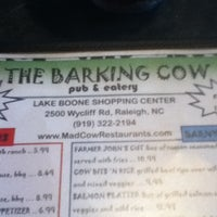 Photo taken at The Barking Cow Pub & Eatery by Cole P. on 3/19/2012