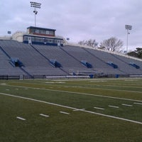Photo taken at Foreman Field at S.B. Ballard Stadium by Mark H. on 12/6/2011