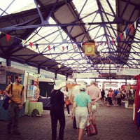Photo taken at Greenwich Market by Fieza I. on 5/23/2012