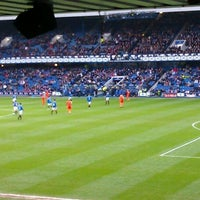 Photo taken at Ibrox Stadium by Peter V. on 2/5/2012