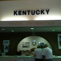 Photo taken at Kentucky Welcome Center / Rest Area by Deborah W. on 7/13/2012