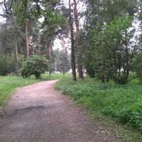 Photo taken at Салтыковский лесопарк by Nastena F. on 7/11/2012