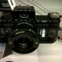 Photo taken at Lomography Gallery Store Manchester by Joe E. on 3/3/2012