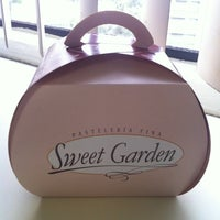 Photo taken at Sweet Garden by Miluska C. on 3/22/2012