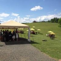 Photo taken at Three Fox Vineyards by Hany O. on 6/2/2012