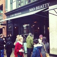 Photo taken at Medina Café by Nalden on 2/19/2012