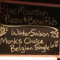 Photo taken at Blue Mountain Pizza by Jessica P. on 2/16/2013