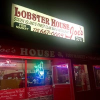 Photo taken at Lobster House Joe's by Cathy V. on 1/21/2015