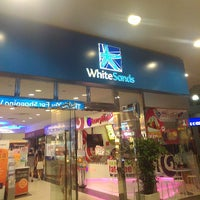 Photo taken at White Sands Shopping Centre by Cho Ting W. on 7/20/2013