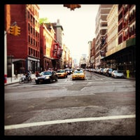 Photo taken at Astor Place by Sajid M. on 6/15/2013