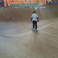 Photo taken at Four Seasons Skate Park by C B. on 5/31/2014