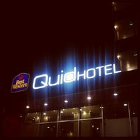 Photo taken at Best Western Quid Hotel Venice Airport by Emanuele P. on 10/6/2012