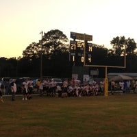 Photo taken at Bellview Packers Football Field by Mike C. on 11/3/2012