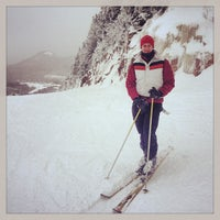 Photo taken at Cannon Mountain Ski Area by Evan B. on 3/3/2013