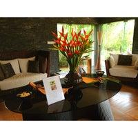 Photo taken at Spa at Four Seasons Resort Mauritius at Anahita by Marianna I. on 2/23/2013