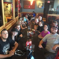 Photo taken at Red Robin Gourmet Burgers by Dameon J. on 10/21/2016