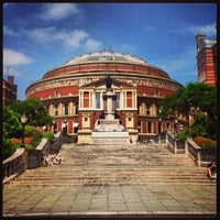 Photo taken at Royal Albert Hall by Frédéric B. on 7/21/2013