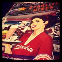 Photo taken at Starlite Diner by Kseniya G. on 7/7/2013