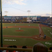 Photo taken at Estadio de Beisbol Eduardo Vasconcelos by Jafet V. on 3/31/2013