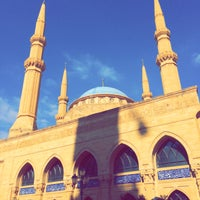 Photo taken at Mohammed Al-Amin Mosque by Asma' B. on 8/16/2016