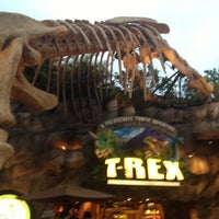 Photo taken at T-Rex Cafe by Phillip W. on 12/13/2012