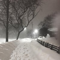 Photo taken at Central Park - Mariners' Gate Playground by rob z. on 1/24/2016
