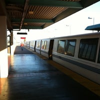 Photo taken at West Oakland BART Station by Cassandra D. on 4/18/2013