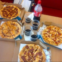 Photo taken at Domino's Pizza by Reyhan M. on 2/23/2013