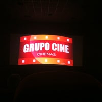 Photo taken at Grupo Cine by Cesar B. on 12/8/2012